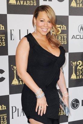 Así era Mariah Carey